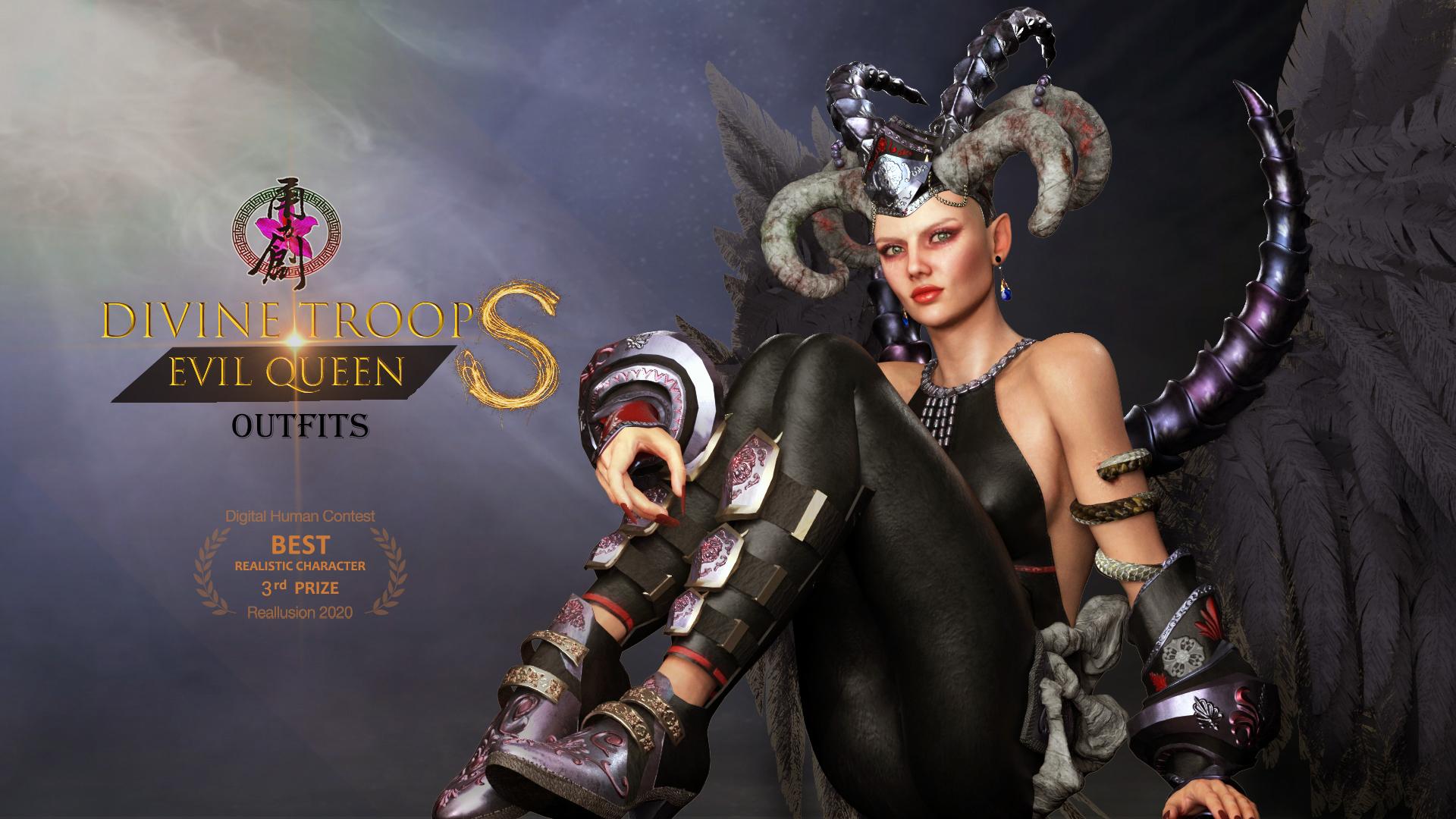 Divine Troop Super - EvilQueen-Poster01.