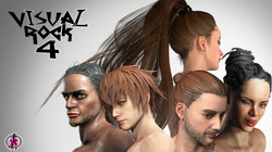 Visual Rock 4 - Hair Pack