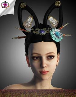 Ancient Empress - Soeui Hairstyles
