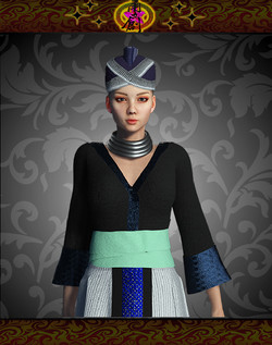 Hmong-Female Costumes