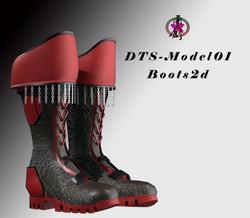 dts-model01-boots2d-3d-model-low-poly-obj-fbx-blend-ztl