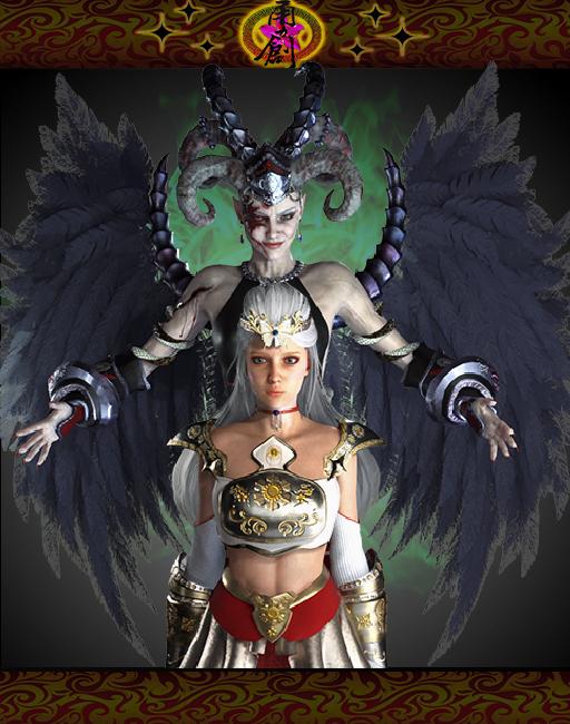 Divine Troop Super - Evil Queen and Prin