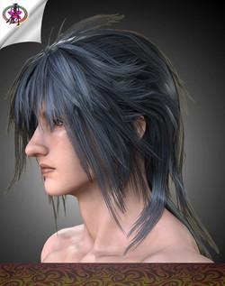 Visual Rock 2 - Hair01