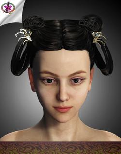 DTS-Model1B-Hair