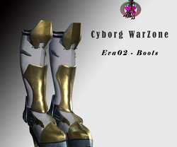 CyrborgWarZone-Boots-Poster