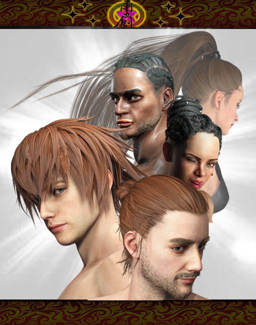 VisualRock4-HairPack