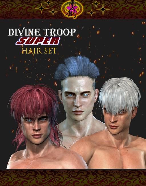 Divine Troop Super-Model02 Hair Set