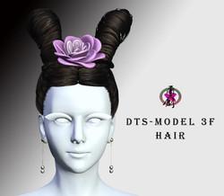 dts-model3f-hairstyle-3d-model-low-poly-obj-fbx-blend-ztl-fbm