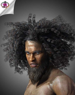 CurlyAfro-Hair