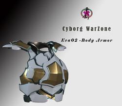 Cyborg Warzone - Eva02- Body Armor - Mai