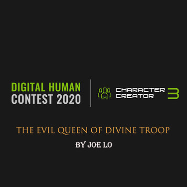 3D Digital Human Contest 2020 - WIP (Stage 1)