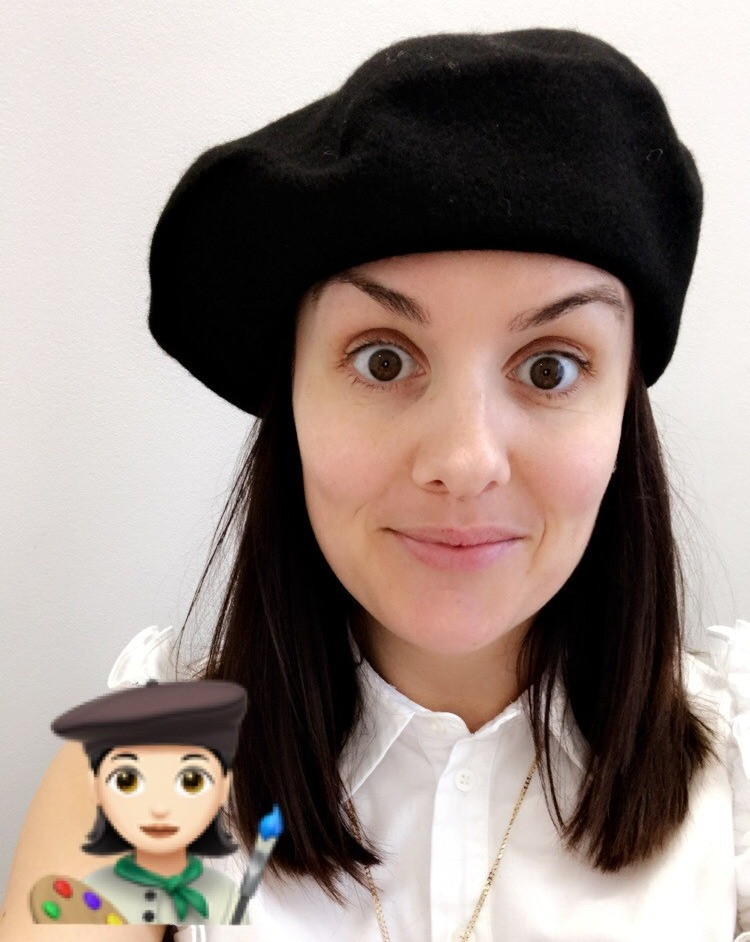 ...And then a dear friend bought me a Beret, I say it was meant to be.