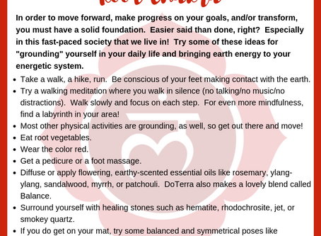 Charge up your Root Chakra!