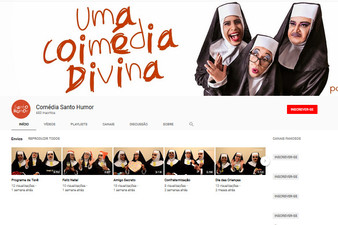 """Vídeos da comédia """"Santo Humor"""" já estão disponíveis no YouTube"""