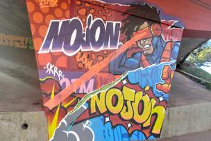Artistas utilizam o grafite para compor cenário urbano em Campinas