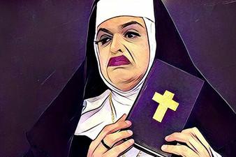 Ordem de São Cifrão tem religiosa encrenqueira e mal humorada