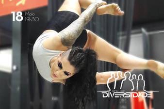 Sarau terá participação especial de Beatriz Justi no pole dance artístico
