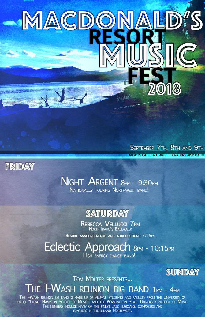 MacDonald's 2018 Music Fest!