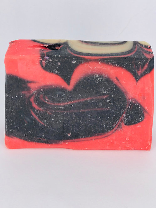 Queen Of Hearts Natural Soap Bar