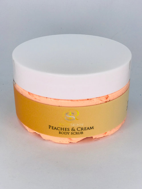 Peaches & Cream Body Scrub