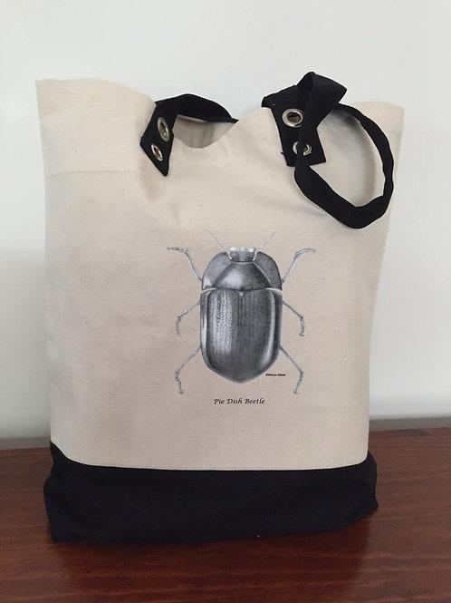 Calico Eyelet beetle bag