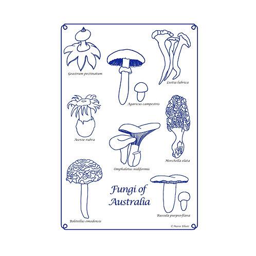 Fungi Tea towel