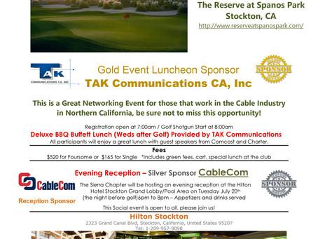 Sierra Chapter Golf Tournament 2021 - July 21st