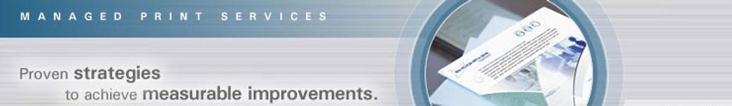 Toshiba Encompass, Managed Print Services