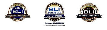 Toshiba eStudio4508A BLI Awards