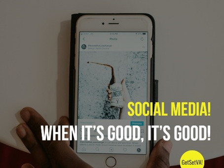 Social Media…when it's good, it's good!