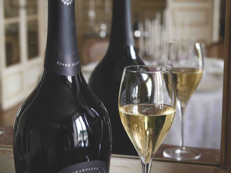 Bubbling with Enthusiasm for Champagne