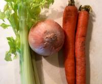 Cast-Off Veggie Stock