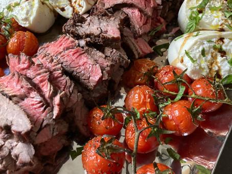 Steak, Burrata & Tomato Platter