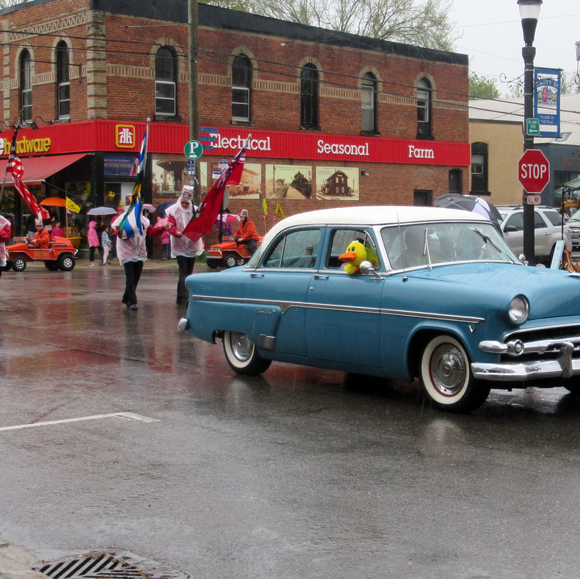 Coldwater Duck Race Parade