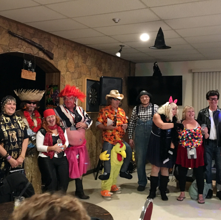 Halloween Party at the Legion