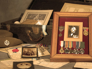 DIGGING FOR YOUR MILITARY ROOTS