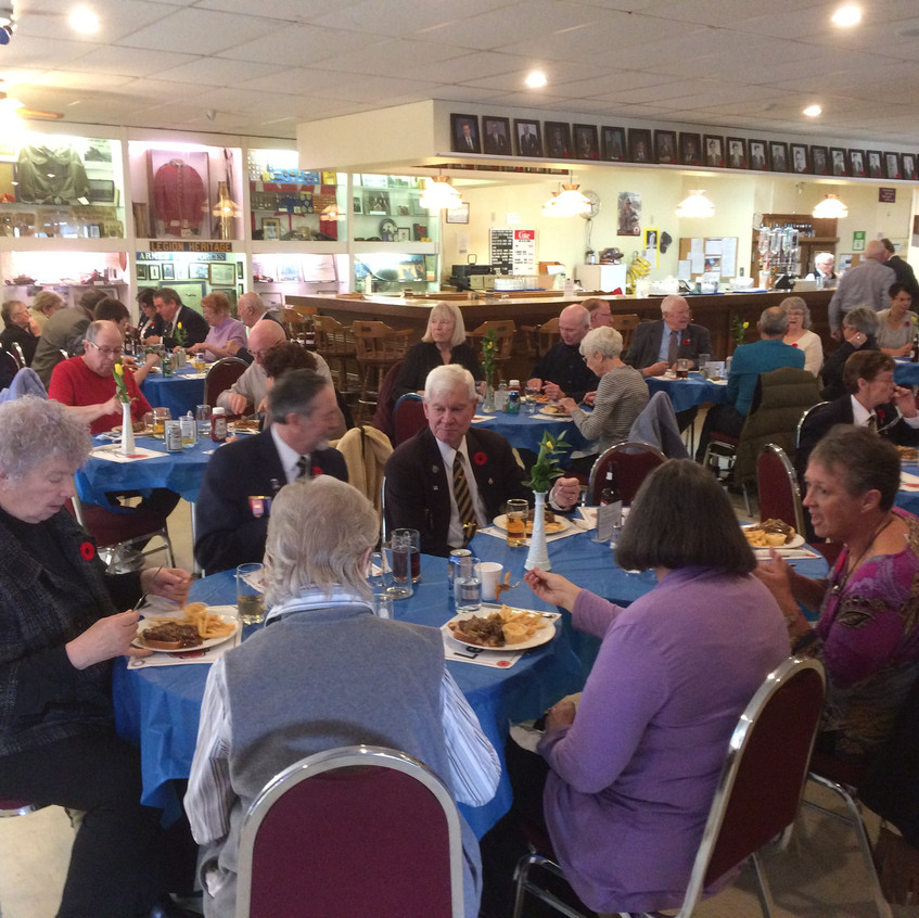 Vimy Day Luncheon at the Legion