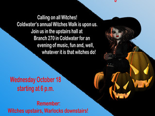 Coldwater Witches Walk