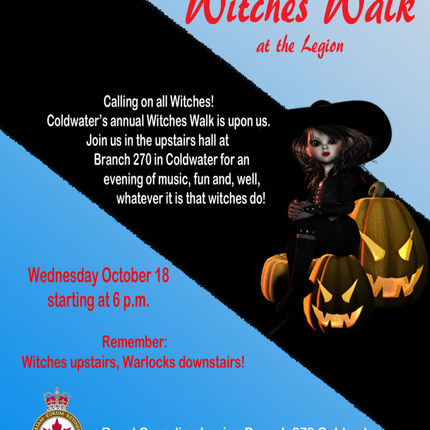 Witches Walk at the Legion