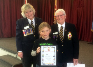 PUBLIC SPEAKING COMPETITION AT THE COLDWATER BRANCH