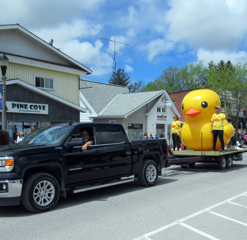 Duck Race Parade