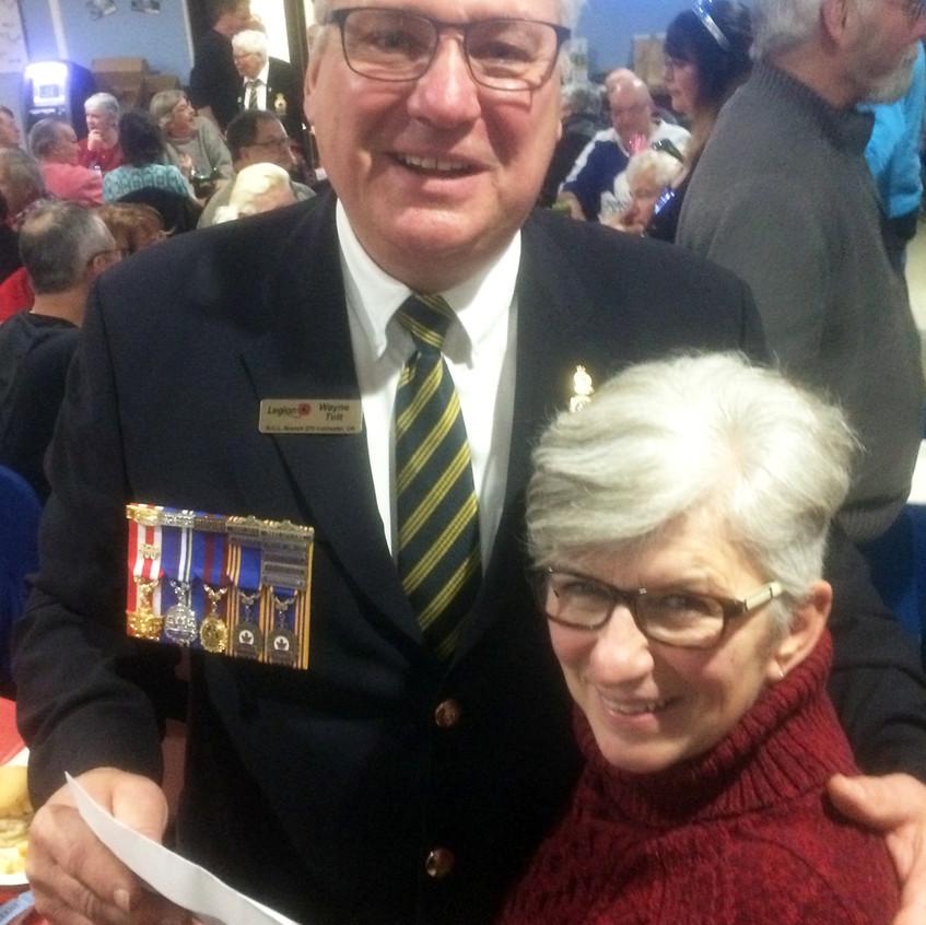 Coldwater Legion President's Levee