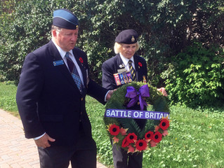 BATTLE OF BRITAIN COMMEMORATED