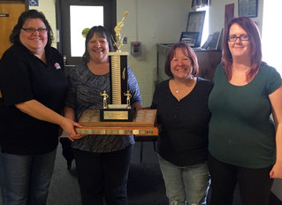 COLDWATER BRANCH LADIES AUXILIARY DART TEAM WINS ZONE CHAMPIONSHIP