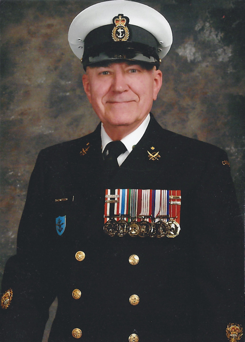 Chief Petty Officer 2nd Class Tom Thompson in his Navy days.