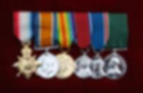 Medals of Sgt Major Napoleon Marion