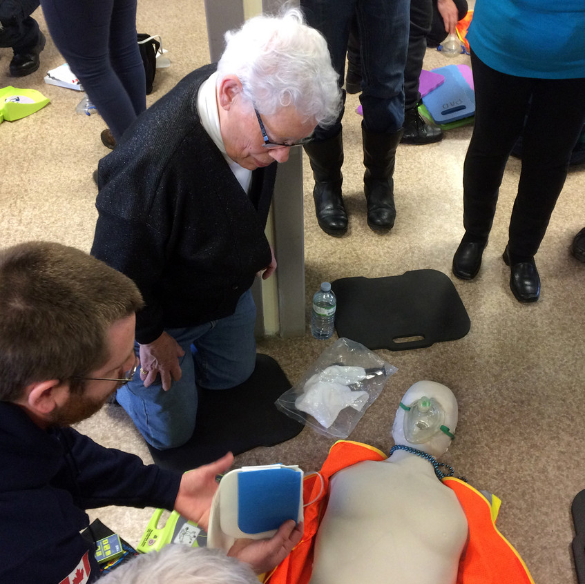 CPR Day - Maggie & PAD