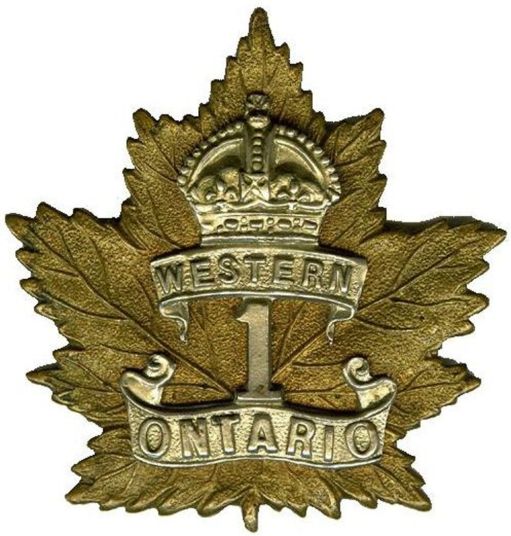 Private Dunkin was serving with the 1st Canadian Infantry Battalion (Western Ontario) when he was killed in action at Passchendaele.
