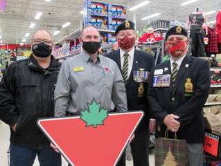 FESTIVE MEAL GIFT CARDS FOR LOCAL VETERANS