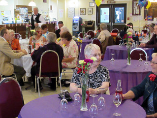 LADIES AUXILIARY HONOURS & AWARDS AND APPRECIATION LUNCH
